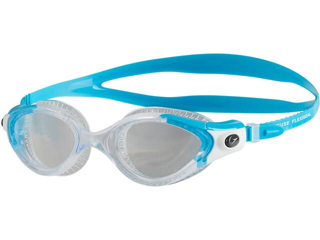 speedo W s Futura Biofuse Flexiseal Goggle Turquoise Clear ... 345eb36f218ca